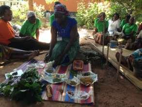 Women Sharing Traditional Medicine