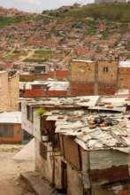 Bogota outskirts