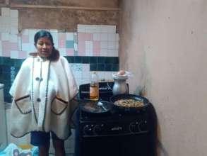 Second estufa delivered