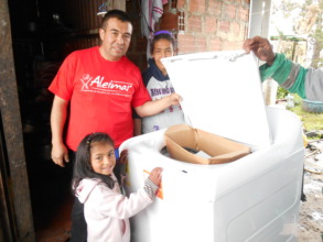 A new laundry for Laura's family!