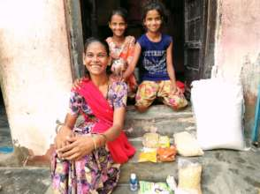 Meet with Beneficiary Indira