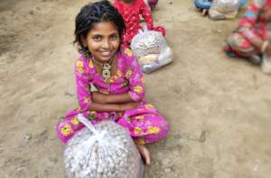 Nutrition Food Packet Distribution