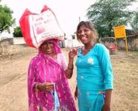 Meet with Beneficiary Asha
