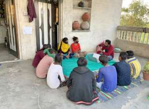The Youth Friends Club Meeting
