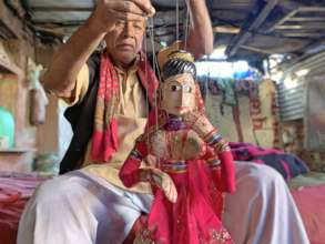 A Story of Puppet Artist ''Babu''