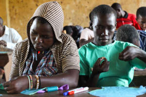 Girls received knowledge on reproductive health