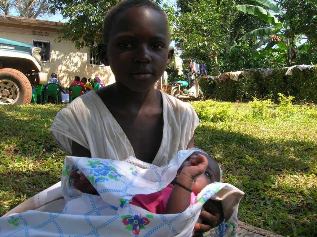 Teach girls and families about reproductive health