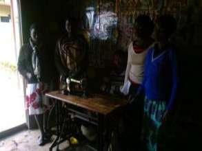 female adolescent on tailoring