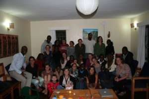 Our group launch in Eldoret, Kenya