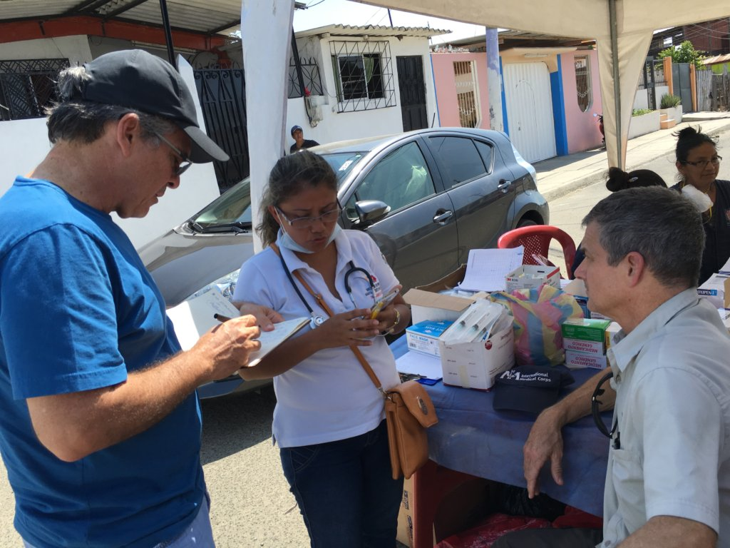 Emergency Earthquake Response in Ecuador