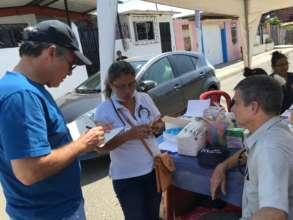 Emergency Earthquake Response in Ecuador