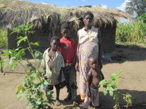 Feed 500 orphan-keeping families in Malawi