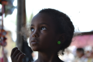 Afar girl in Chifra
