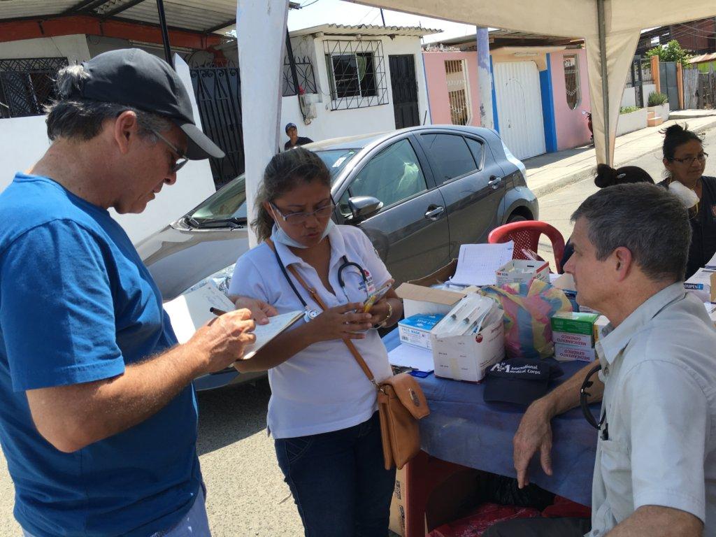 Emergency Relief Efforts for Ecuador