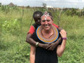 Peace Fellow Colleen at work in northwest Kenya