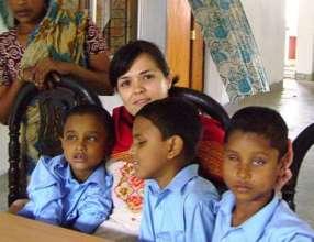 Peace Fellow Danita in Bangladesh