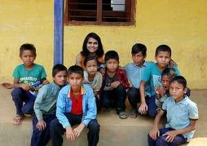 Peace Fellow Dorothy Khan in Nepal