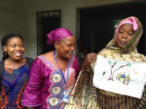 Peace Fellow Refilwe (left) served in Mali in 2015