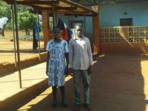 Tiyamike, a girl pupil, 12 and Mwayiwawo a boy 15