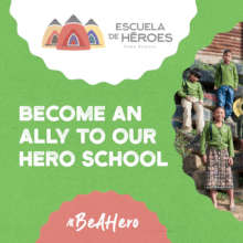 Become an Ally to Our Hero School and #BeAHero