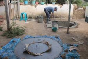 Water tanks for 18 families in Xiquin Sanai