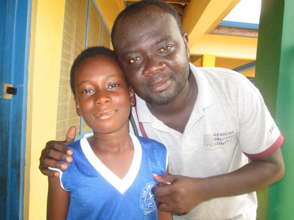 Back to school, poor Erica needs your help, Ghana.
