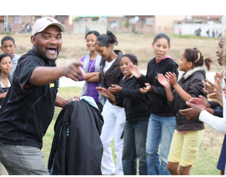 Developing Vulnerable Kids Thru Sport South Africa