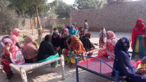 Awareness Session in another village