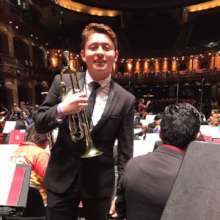 Juan Manuel in the final concert