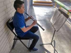 Estudiante de oboe