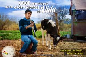 Oboe: instrument that gives life's opportunities