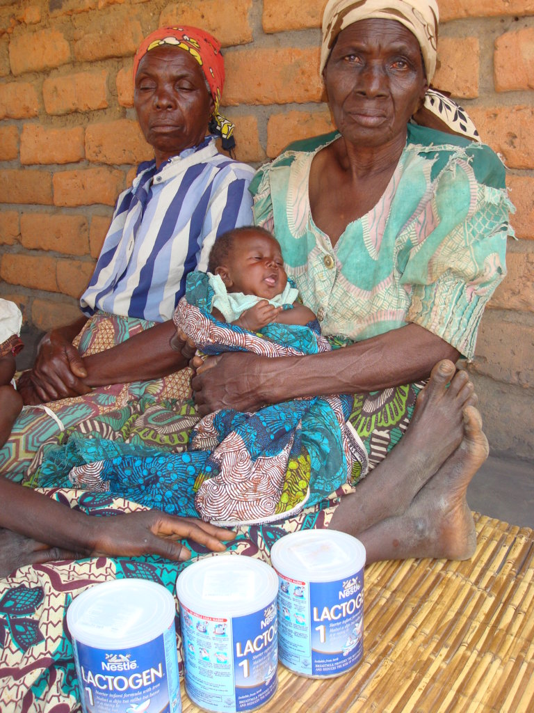 Baby care program in rural Malawi villages