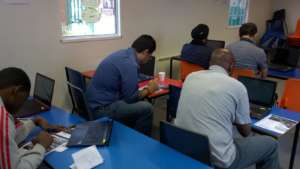 Service Users at  Skills Training