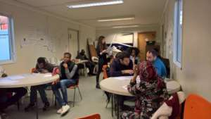 Service Users at Skills Development