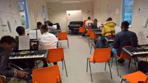 Service Users at Keyboard Skills Training