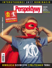 "Cover of special issue of ""Perspektywy"" magazine"