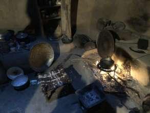 Fireplace used before the mogogo
