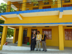 Our new school at Kapil Bastu, fully electrified!
