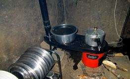 Smokeless cook stove