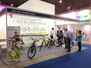 Exciting EBBB promotion at INABIKE 2018 in Jakarta