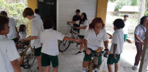 Bali's Dyatmika high school excite with the bikes