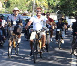 International bikes parade at IVCA 2018 in Sanur