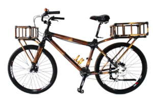 Custom order - EBBB black bamboo bike