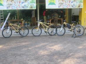 East Bali bamboo bike