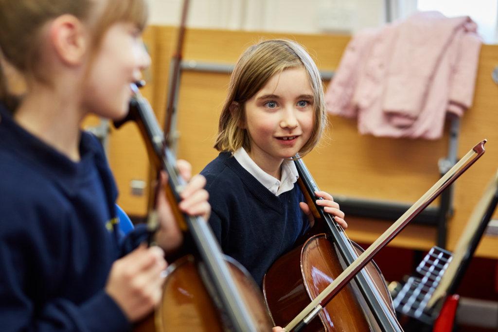 Change the lives of 50 children through music