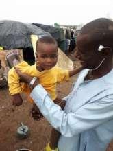 ATEG medical team at the Falhadie IDP Camp