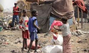 Falhadie IDP Camp children