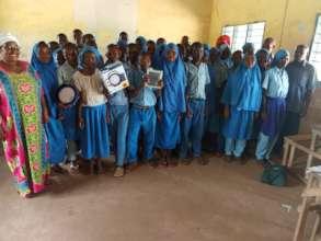 Class 7 Pupils of Mnazini Primary School