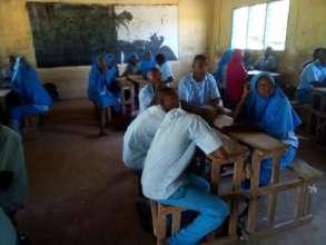 Mnazini Primary Students