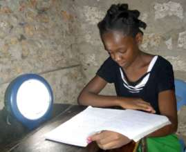 Patricia studying at home